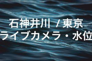 石神井川のライブカメラ・水位