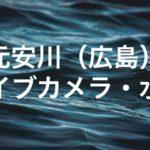 元安川のライブカメラ・水位