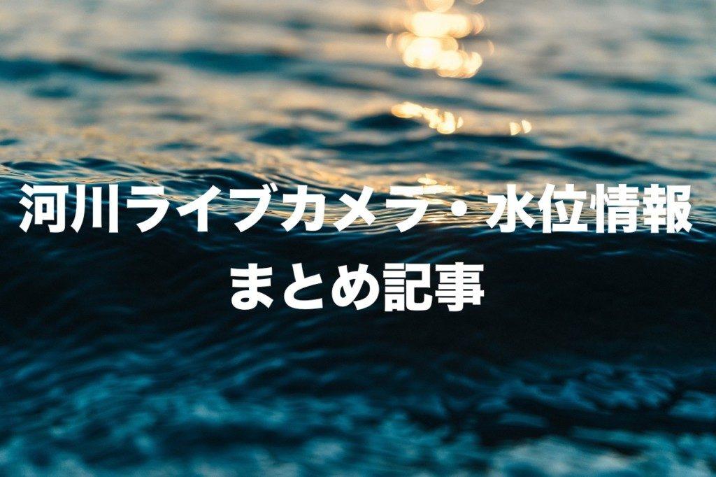 河川ライブカメラ・水位情報
