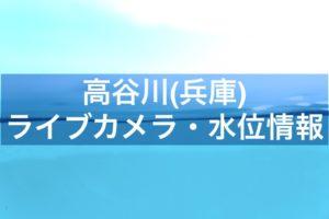 高谷川(兵庫)のライブカメラ・水位