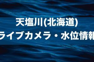 天塩川のライブカメラ・水位